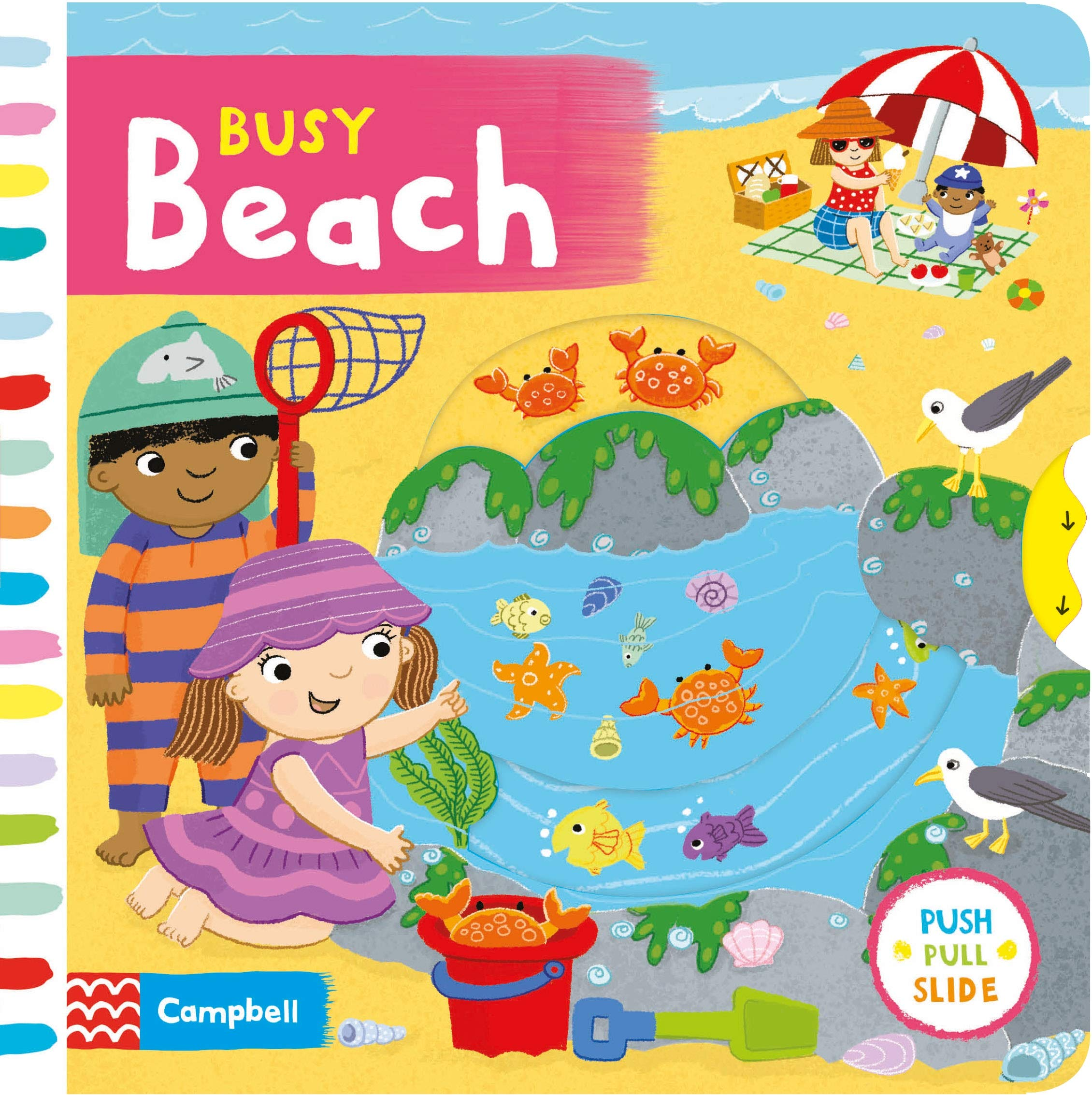 Busy Beach (Busy Books): Campbell Books: 9781529004175.