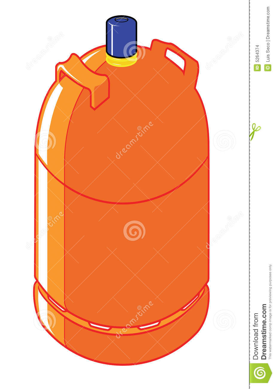 Butane Gas Cylinder Stock Images.