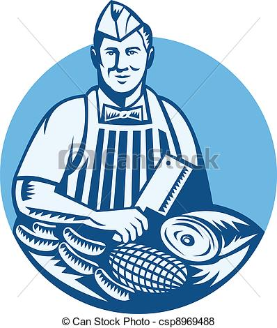 Butcher Stock Illustrations. 4,996 Butcher clip art images and.