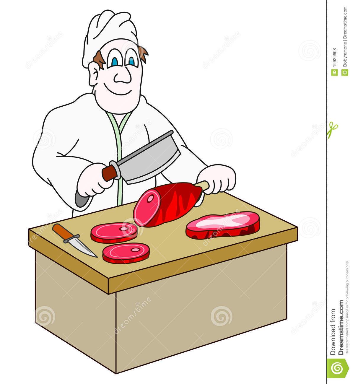 Butcher Clipart.