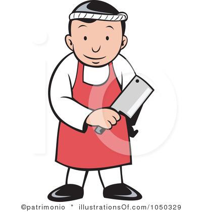 RF) Butcher Clipart.
