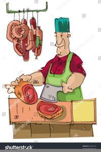 Butchers Clipart.