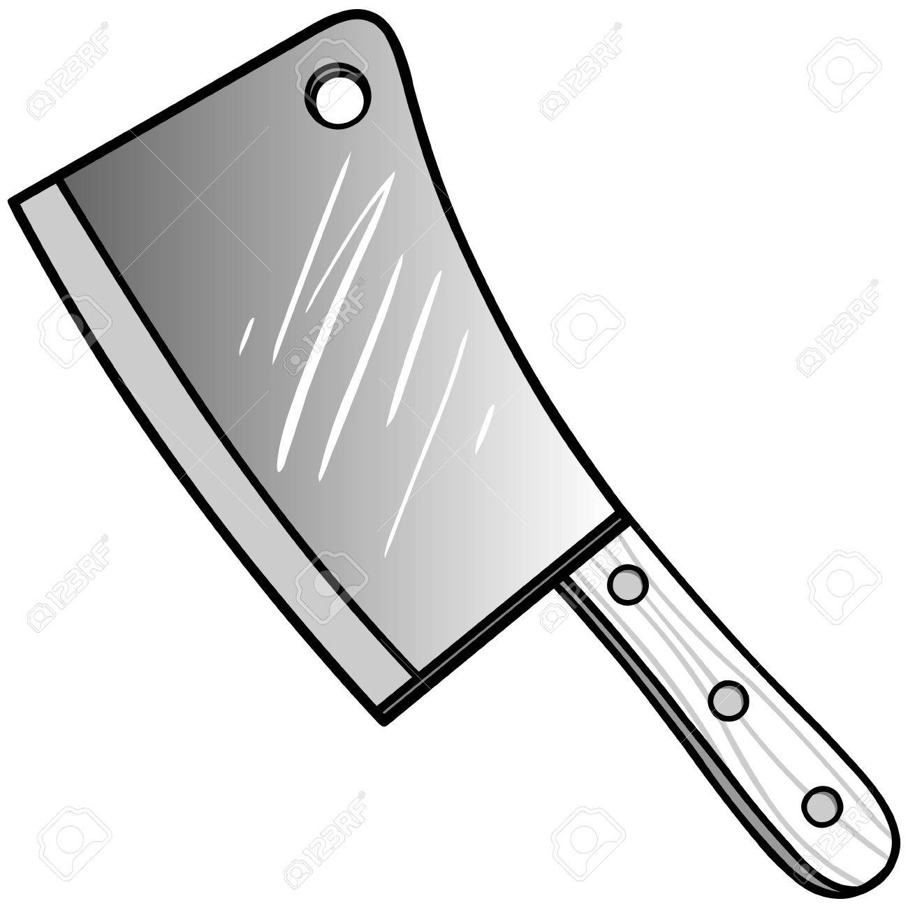 Butcher knife clipart 3 » Clipart Station.