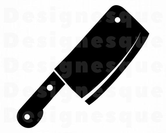 Cleaver SVG, Butcher Knife Svg, Cleaver Clipart, Cleaver Files for Cricut,  Cleaver Cut Files For Silhouette, Cleaver Dxf, Png, Eps, Vector.