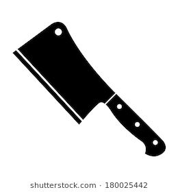 Butcher knife clipart 6 » Clipart Station.