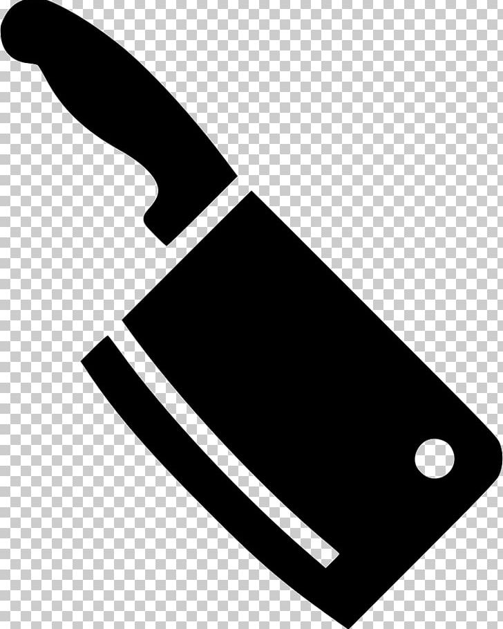 Butcher Knife Cleaver Meat Kitchen Knives PNG, Clipart, Angle, Black.