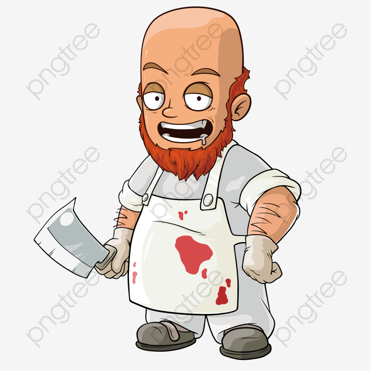 Take The Knife Butcher, Butcher, Take A Knife, Cartoon PNG and.