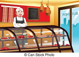 Butcher store Vector Clip Art EPS Images. 1,450 Butcher store.