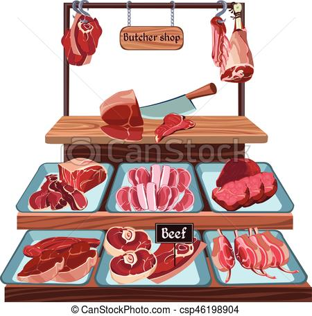 Butcher shop clipart 6 » Clipart Station.