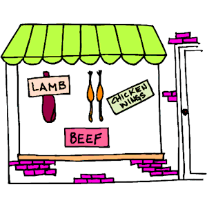 Shop clipart butcher, Shop butcher Transparent FREE for.