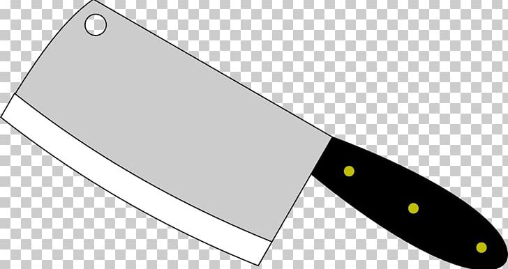 Butcher Knife Cleaver Kitchen Knives PNG, Clipart, Angle.