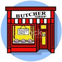 Butcher Shop Icon vektory z knihovny.