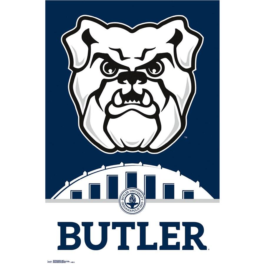 Butler Bulldogs 22.4\'\' x 34\'\' College Logo Poster.