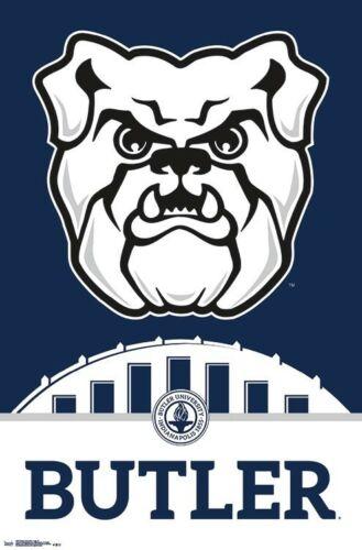 Details about BUTLER UNIVERSITY BULLDOGS Official NCAA Team Logo Wall POSTER.