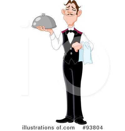 Butler Clipart #93804.