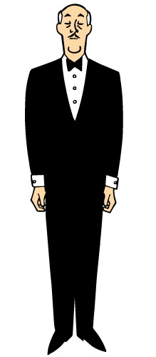 Batman Butler Clipart.