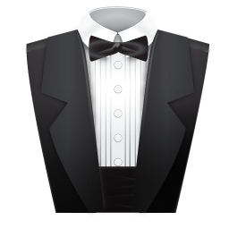 Assistant, butler icon.