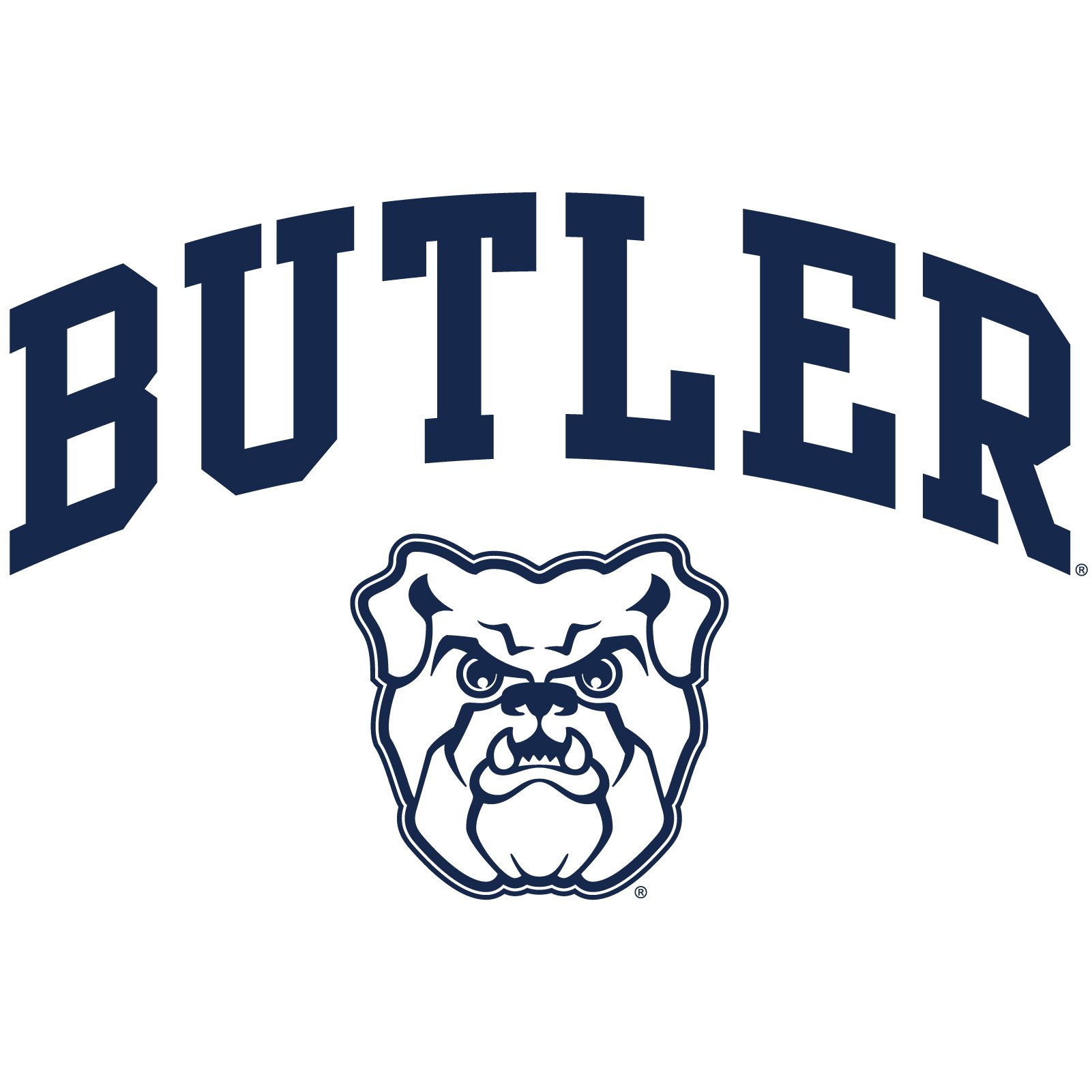 Butler University Bulldogs Arch Logo Short Sleeve T Shirt.
