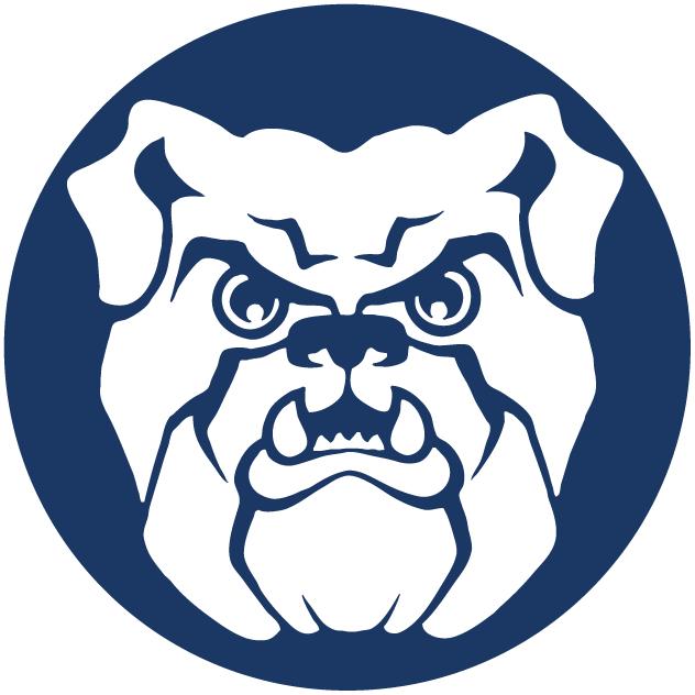 Butler Bulldogs Secondary Logo (1990).