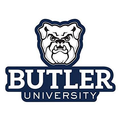 Amazon.com : CollegeFanGear Butler Large Decal \'Butler.