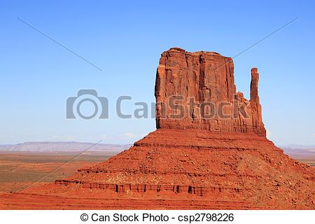 Stock Image of Monument Valley.