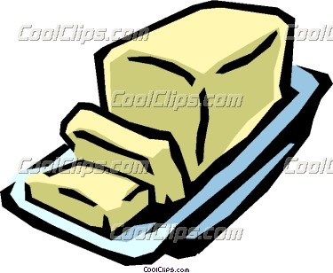 Butter Clip Art Page 1.