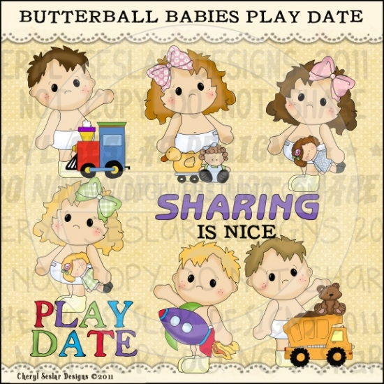 Butterball Babies Play Date 1.