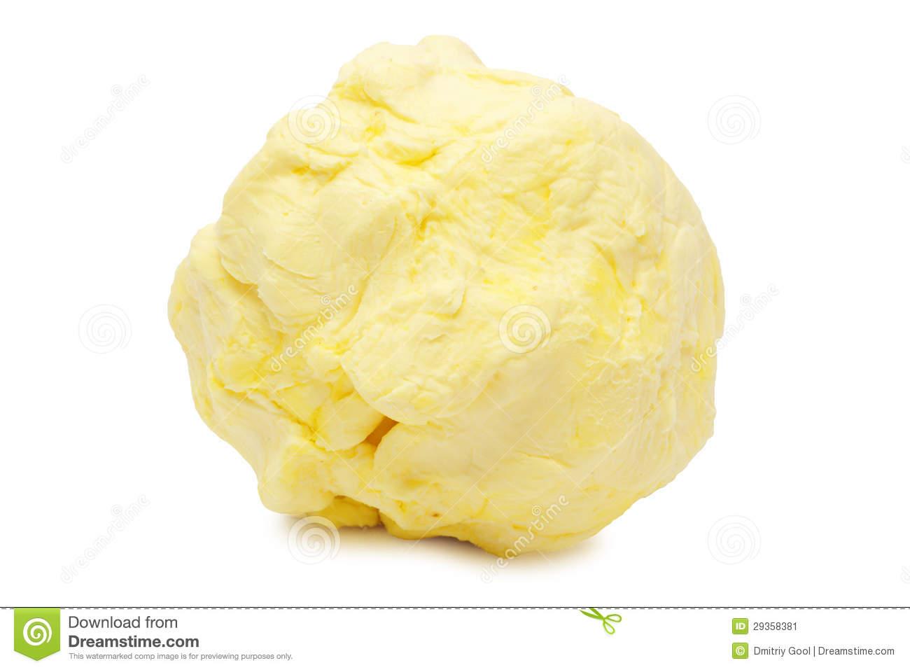 Butter Ball Stock Image.