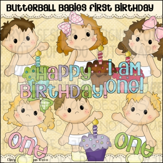 Butterball Babies First Birthday 1.