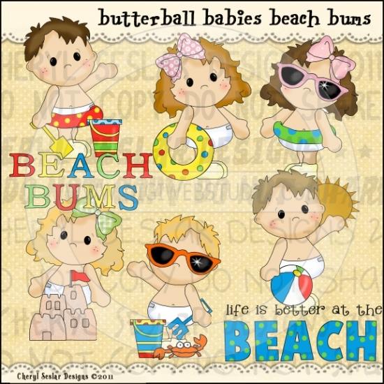 Butterball Babies Beach Bums 1.