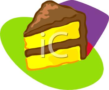 Yellow Cake Clipart.