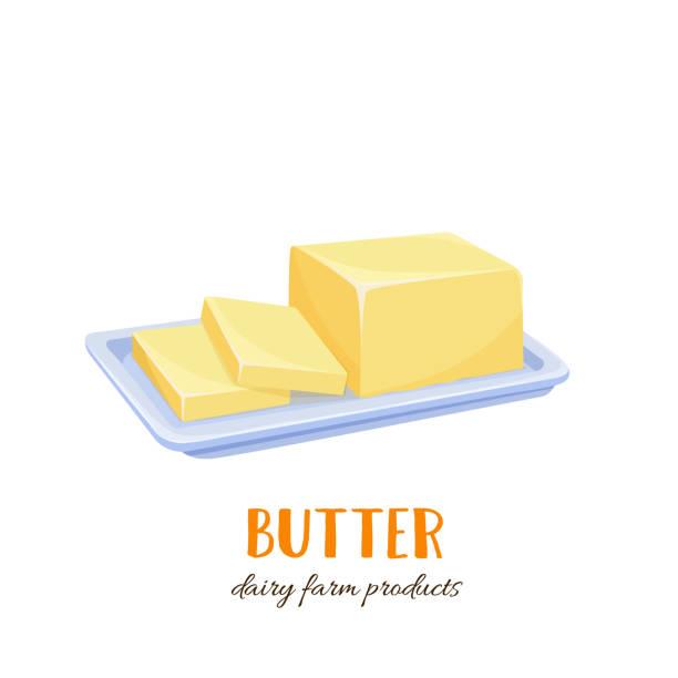 Best Butter Illustrations, Royalty.