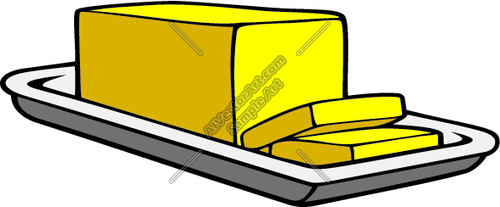 Stick Of Butter Clipart.