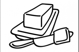 Butter clipart black and white, Butter black and white Transparent.