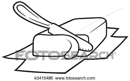 Butter Clipart Black And White & Free Clip Art Images #10579.