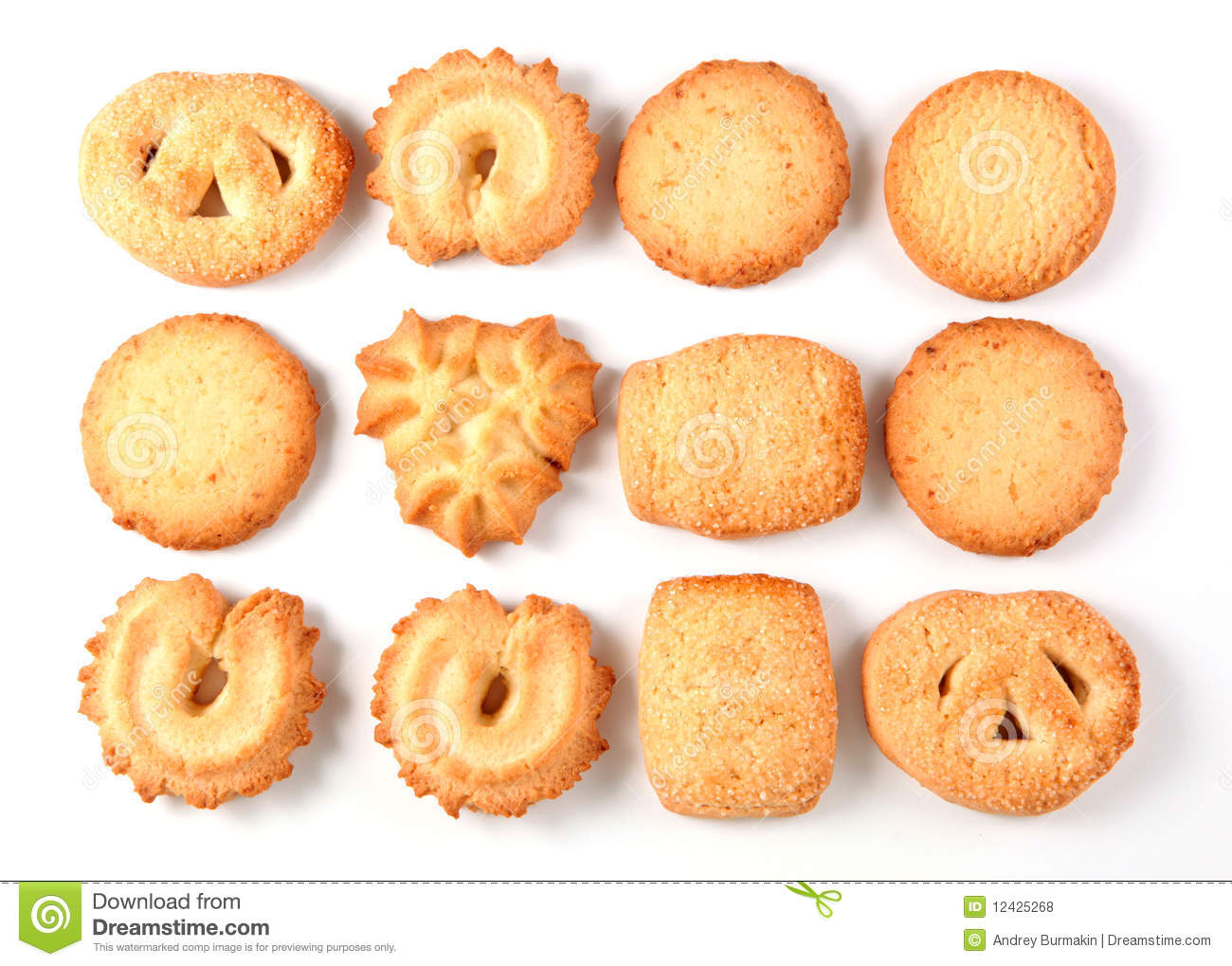 Danish Butter Cookies Stock Photos, Images, & Pictures.