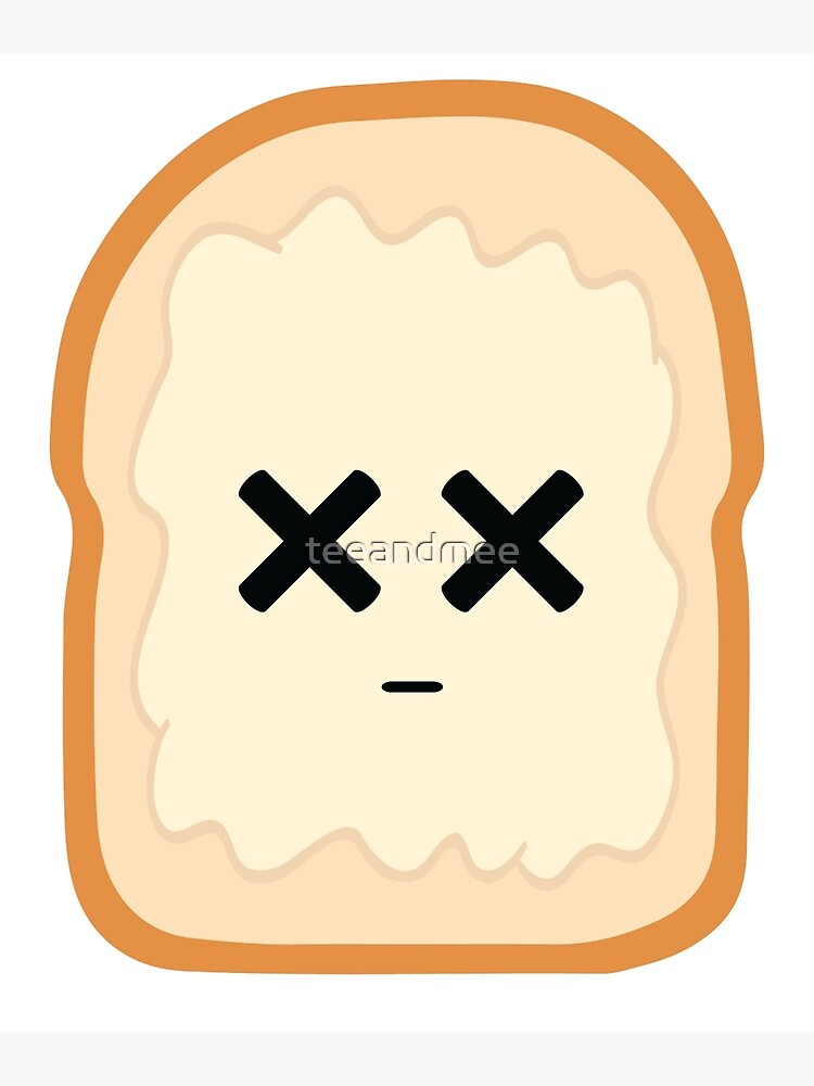 Bread with Butter Emoji Faint and Knock Out.