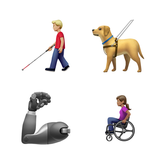 Apple offers a look at new emoji coming to iPhone this fall.