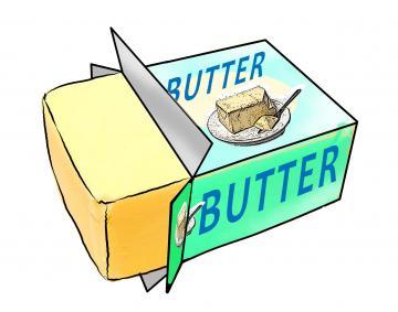 Butter clipart butter stick, Butter butter stick Transparent.