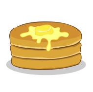 Melting butter clipart.