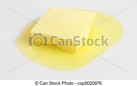Stock Image of Butter.