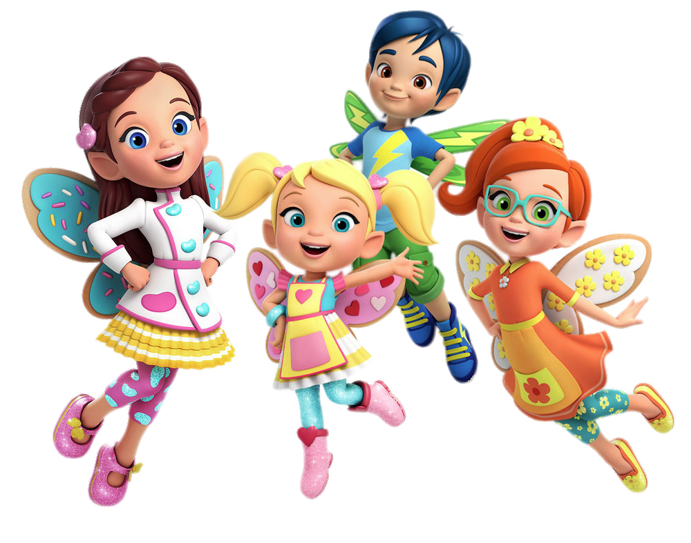 Check out this transparent Butterbeans Cafe characters PNG image.