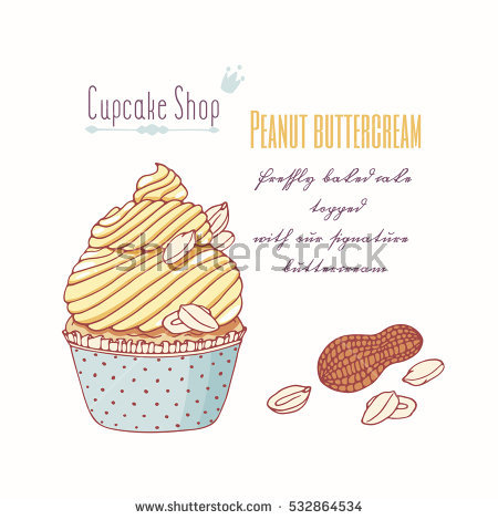 Buttercream Stock Photos, Royalty.