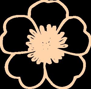 Cream Buttercup Flower Clip Art at Clker.com.