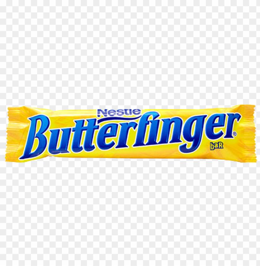 butterfinger candy bar.