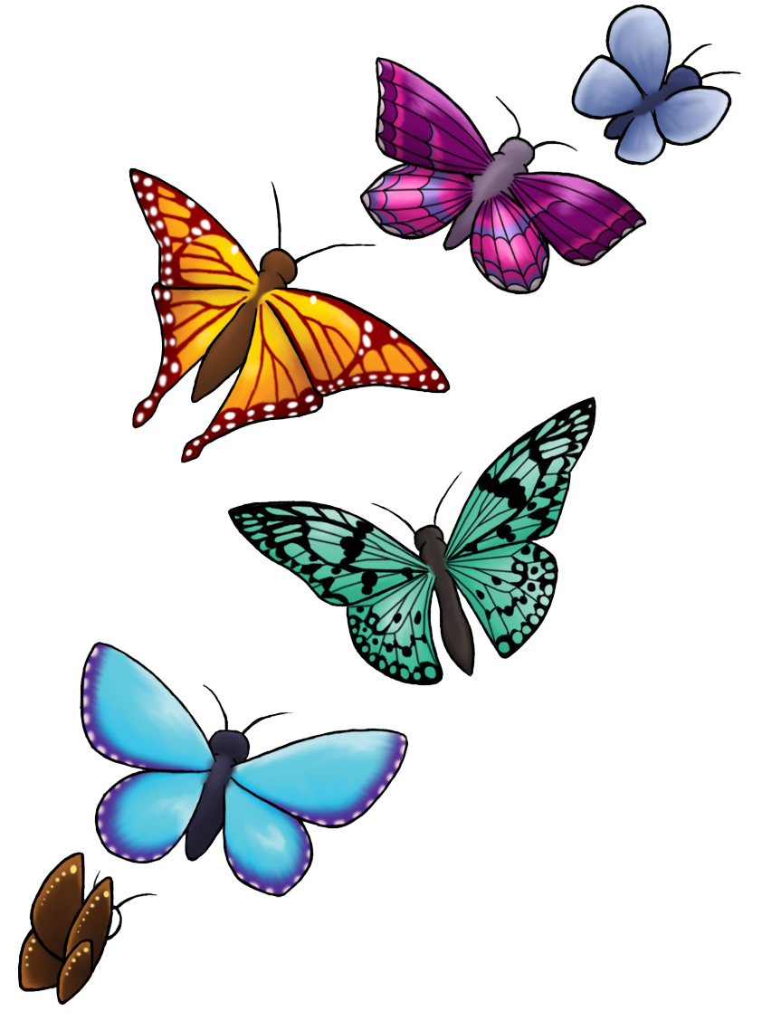 Download Butterfly Tattoo Designs PNG Clipart.