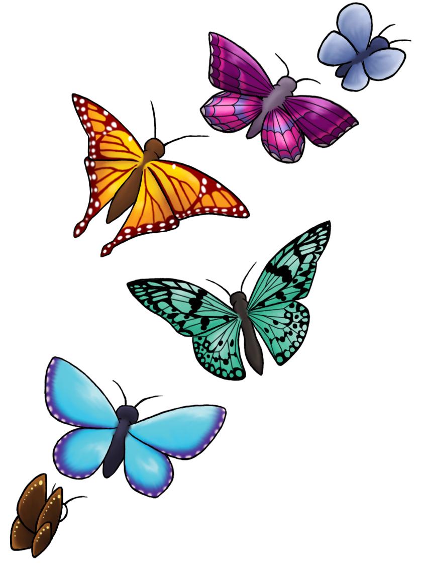 Butterfly Clip Art clipart.