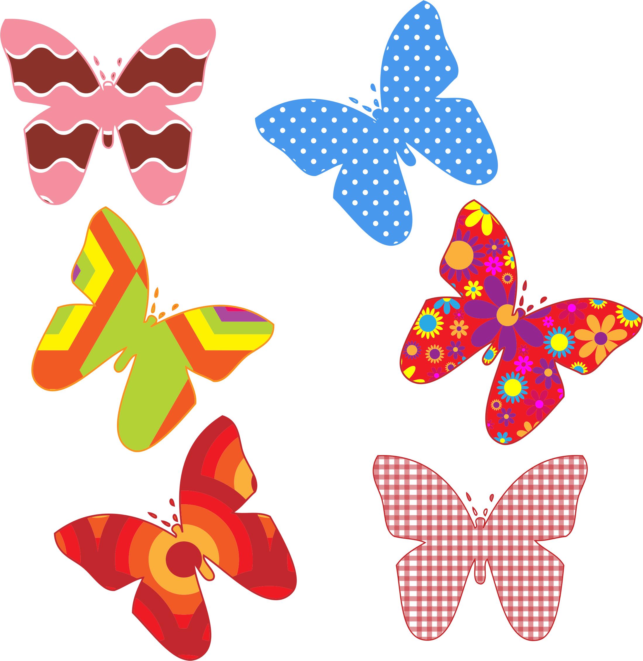 Design clipart butterfly, Design butterfly Transparent FREE.
