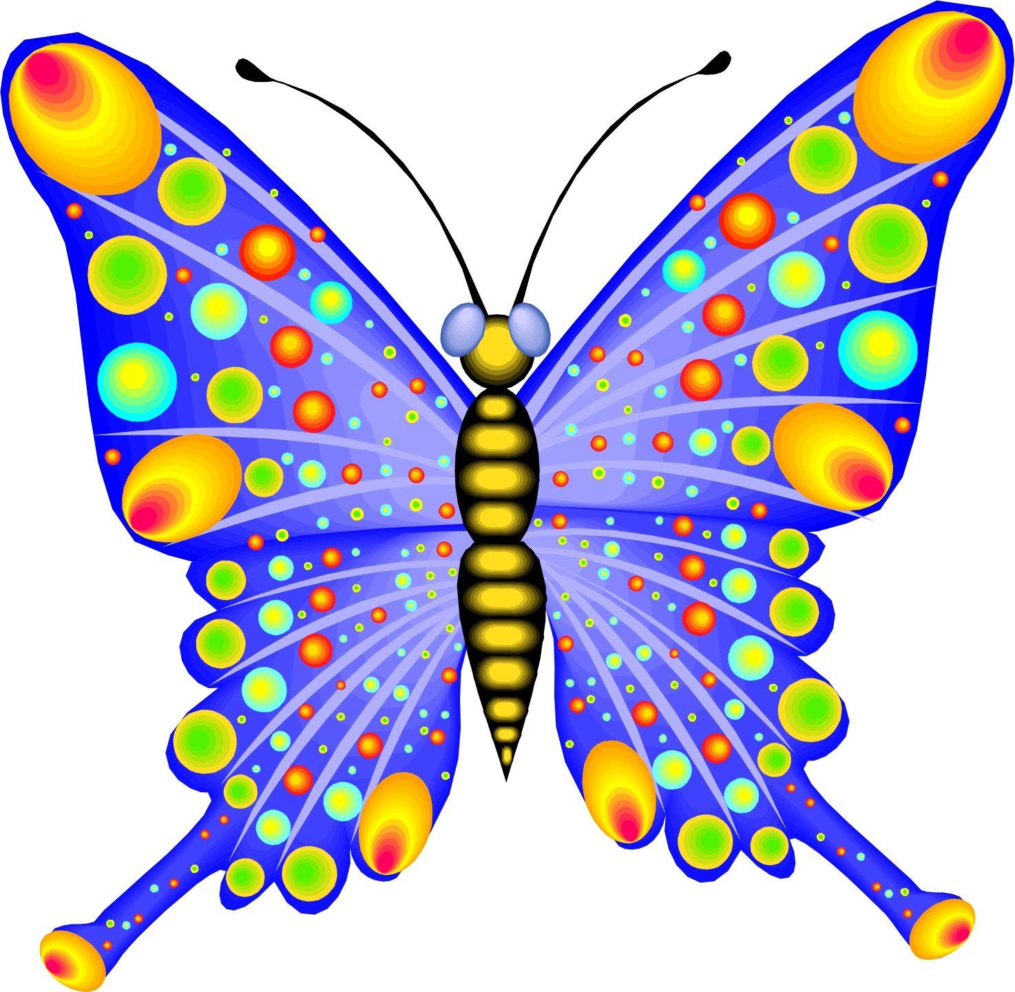 Cartoon Pictures Of Butterflies.