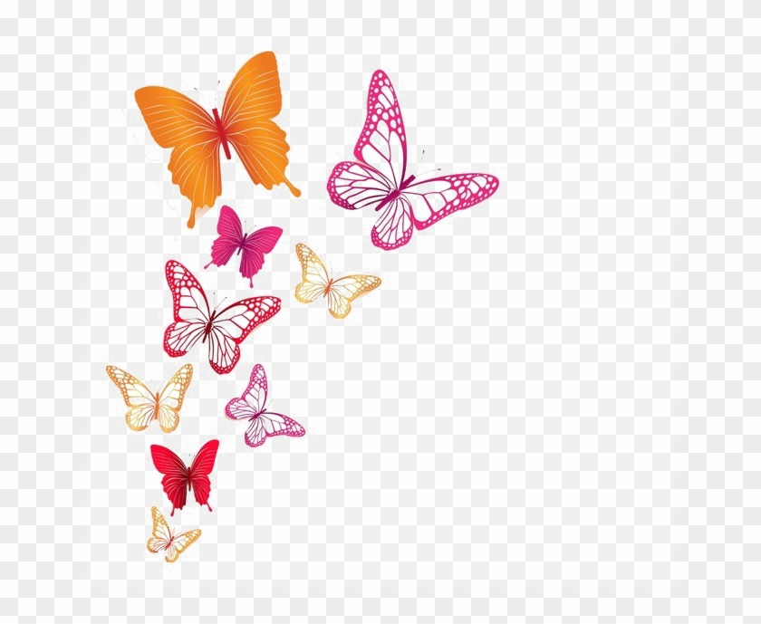 Butterflies Png Image Background.